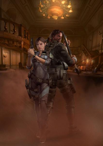 Final Fantasy Girl Wallpaper Resident Evil Revelations Concept Art
