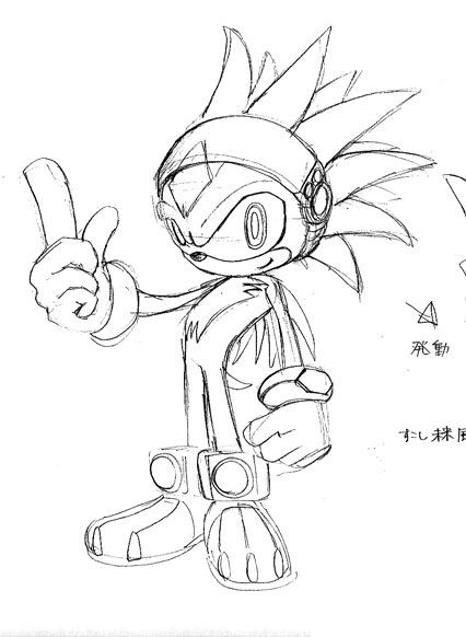 Sonic The Hedgehog Concept Art