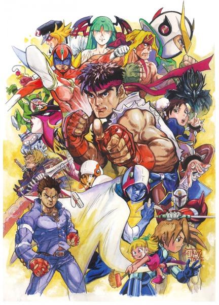 Tatsunoko vs Capcom Ultimate AllStars Concept Art