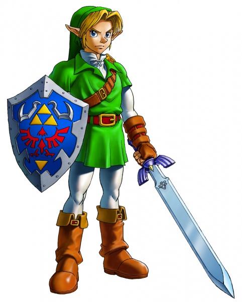 The Legend Of Zelda Ocarina Of Time 3D Concept Art