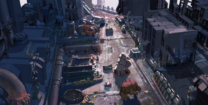 Warhammer 40000 Dawn of War II Concept Art