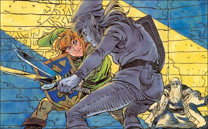 Zelda II The Adventure Of Link Concept Art