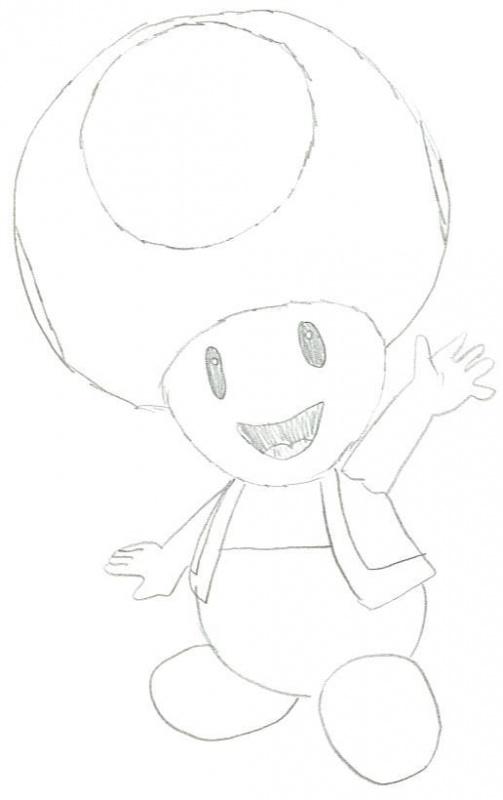 Toad « Mario Fanart