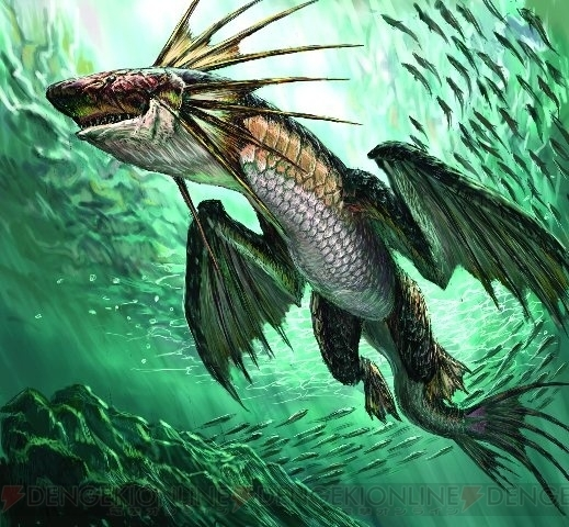 Plesioth Swimming From Mhdude Hosted By Neoseeker
