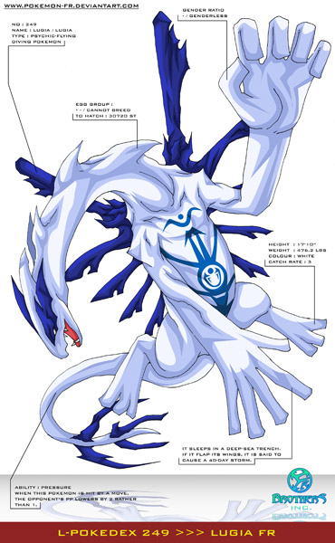 Lugia From SwampertLover Hosted By Neoseeker