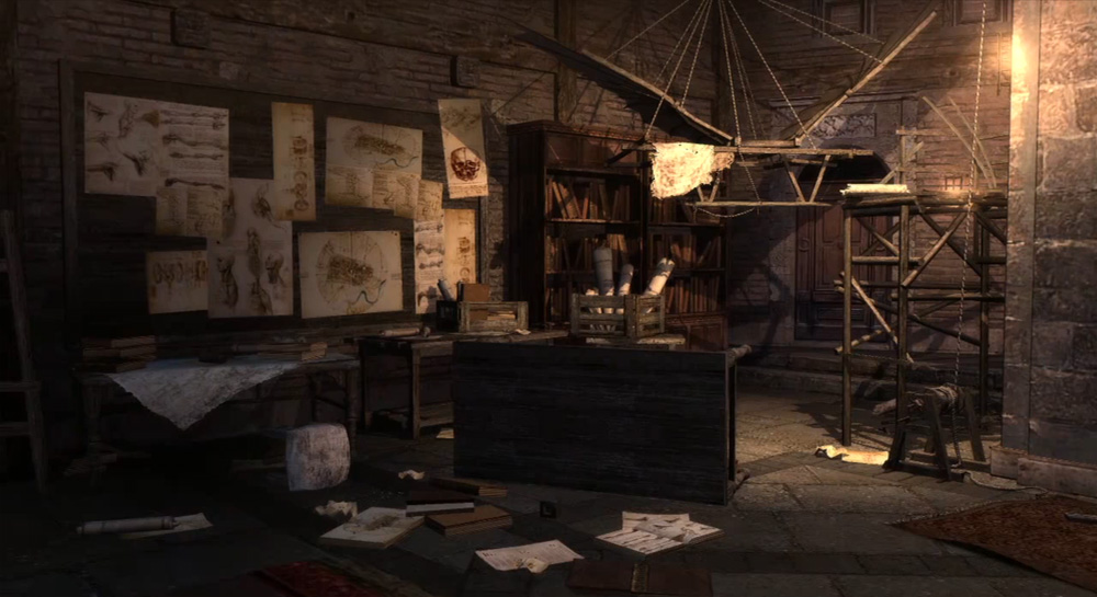 Da Vinci Kidnapped In Next Assassins Creed Brotherhood