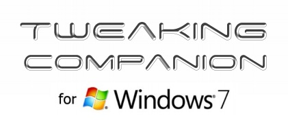 TweakGuides Tweaking Companion for Windows 7 released