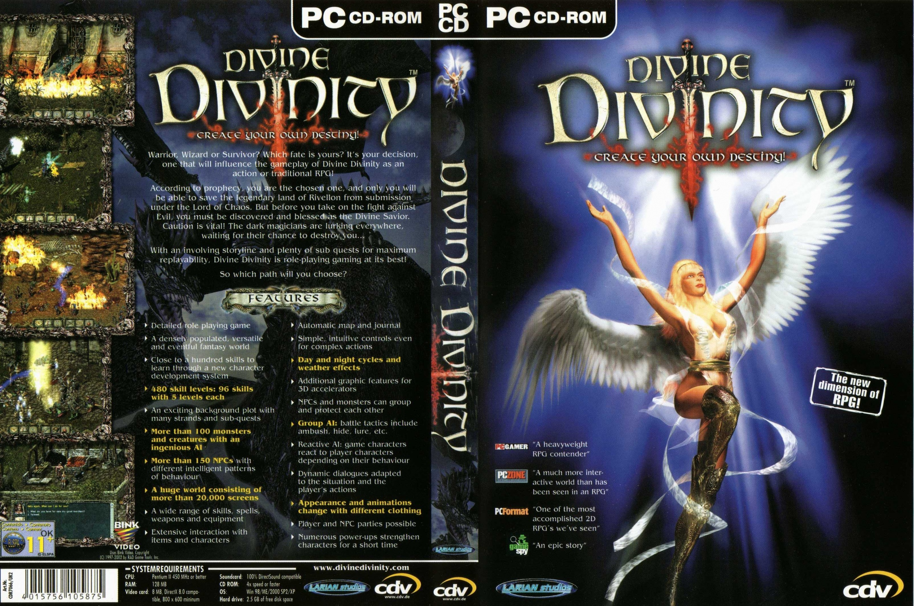 Divinity Series Revived On Good Old Games Neoseeker