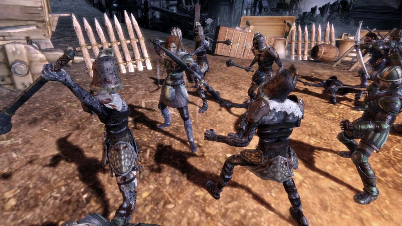 Dragon Age: Origins Combat