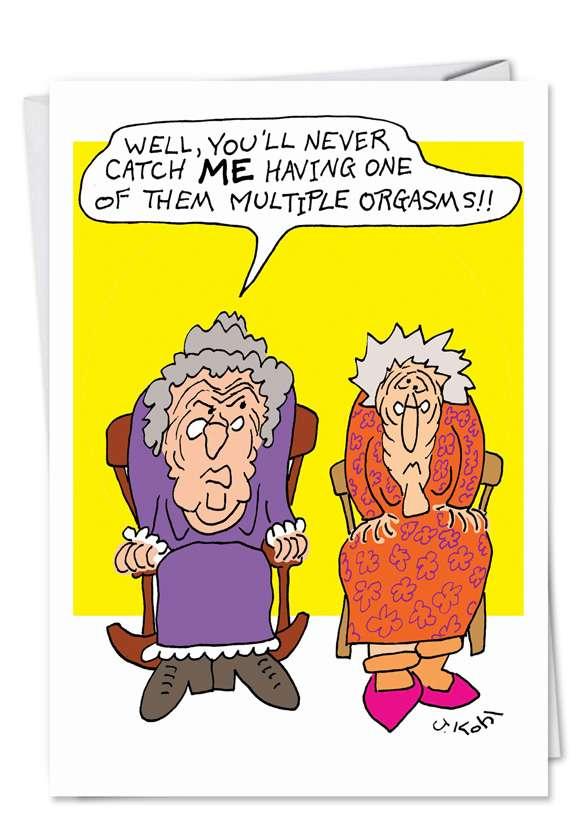 Funny Birthday Cards For Grandma : funny, birthday, cards, grandma, Cranky, Grandma, Funny, Birthday