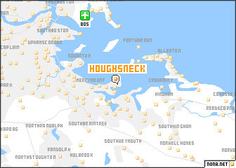 Houghs Neck United States USA map nonanet