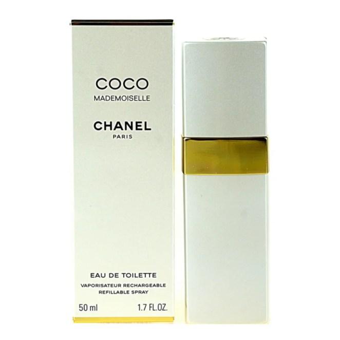 Chanel Coco Mademoiselle toaletní voda plnitelná pro ženy 50 ml