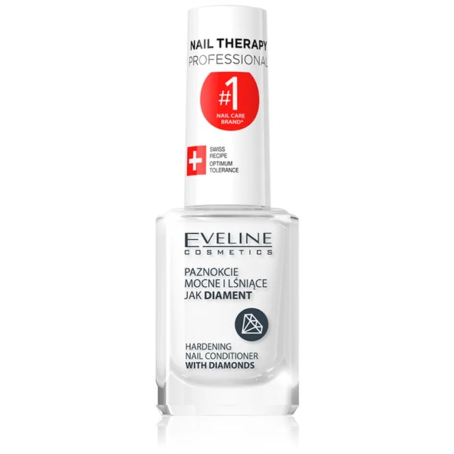 Eveline Cosmetics Nail Therapy zpevňující lak na nehty 12 ml