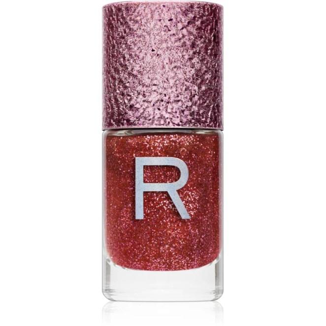 Makeup Revolution Glitter Nail třpytivý lak na nehty odstín Dazzle 10 ml