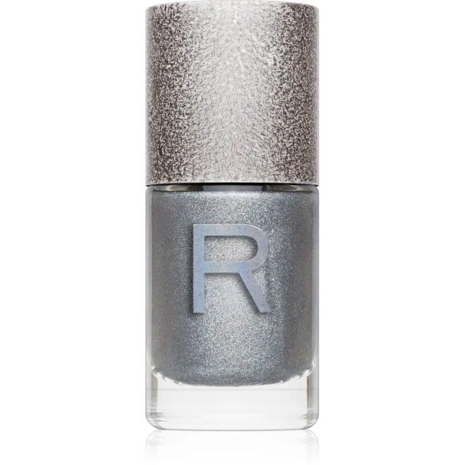 Makeup Revolution Holographic Nail lak na nehty s holografickým efektem odstín Aura 10 ml