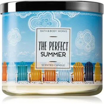 Bath & Body Works The Perfect Summer lumânare parfumată