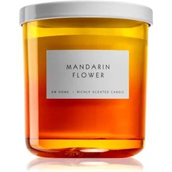 DW Home Mandarin Flower lumânare parfumată