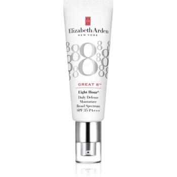 Elizabeth Arden Eight Hour Great 8 Daily Defense Moisturizer lotiune protectoare hidratanta SPF 35
