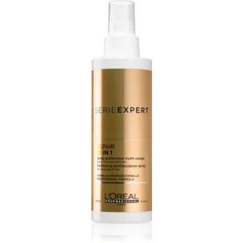 L'Oréal Professionnel Serie Expert Absolut Repair Gold Quinoa + Protein Spray multifuncțional ușor pentru par deteriorat