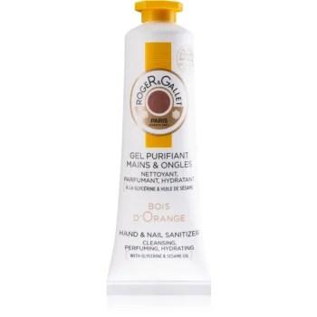 Roger & Gallet Bois d'Orange gel pentru curățarea mâinilor pentru unghii pentru femei