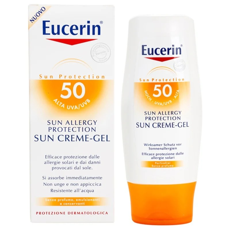 Eucerin Sun crmegel protectrice solaire antiallergie