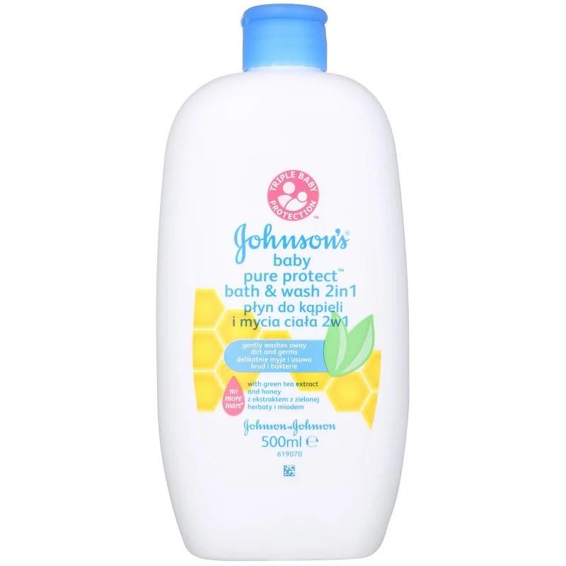 Johnsons Baby Pure Protect gel de ducha y para bao para