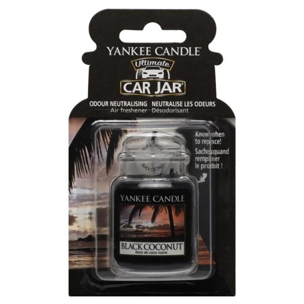Yankee Candle Black Coconut Car Air Freshener Hanging