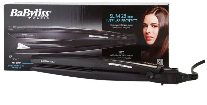 BaByliss Stylers Slim 28 mm Intense Protect Gltteisen