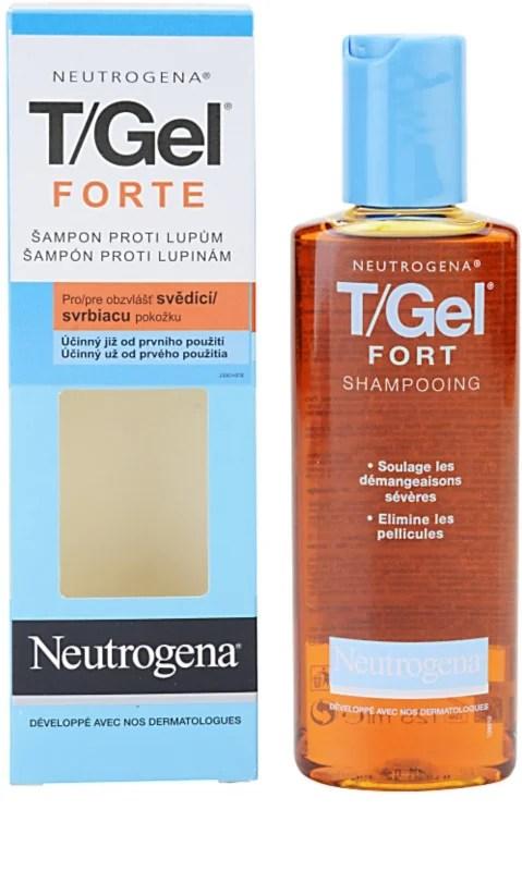 Neutrogena T/Gel Forte Anti - Dandruff Shampoo For Dry ...