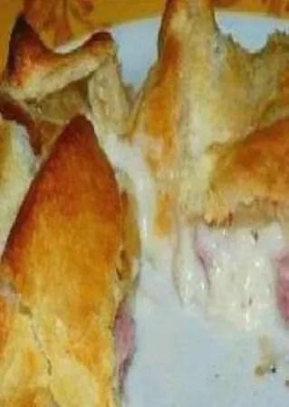 Feuilleté Au Jambon Bechamel : feuilleté, jambon, bechamel, Feuilletés, Jambon, Béchamel