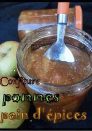 confiture pommes miel