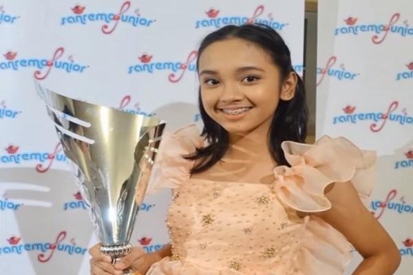 飆唱海豚音 印尼美少女勇奪國際歌唱賽冠軍 | Lyodra | 新唐人中文電視臺在線
