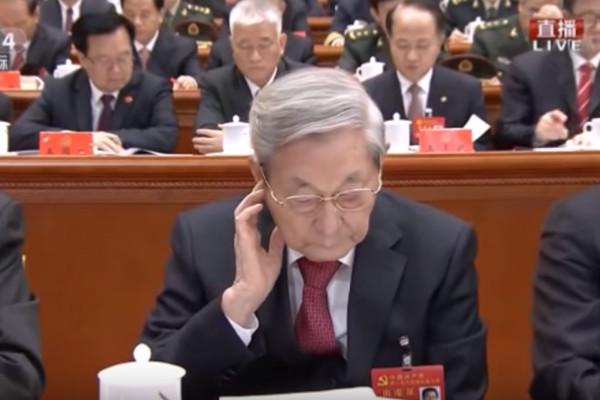被指19大未鼓掌 朱镕基開口挺習:習思想是行動綱領 | 十九大 | 開幕日 | 習近平 | 新唐人中文電視臺在線