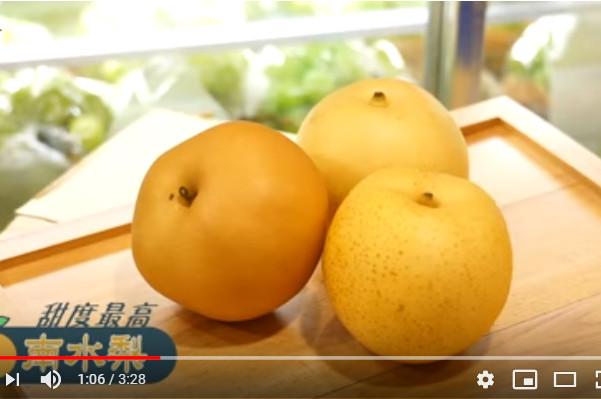 秋天必食3大日本梨 這種最甜(視頻)   秋天吃梨   美食   新唐人中文電視臺在線