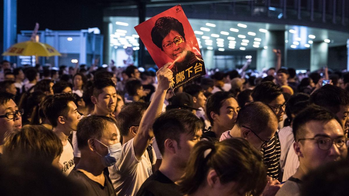 習近平遭「埋刀設伏」?專家揭香港事件內幕   反惡法   林鄭下臺   逃犯條例   新唐人中文電視臺在線