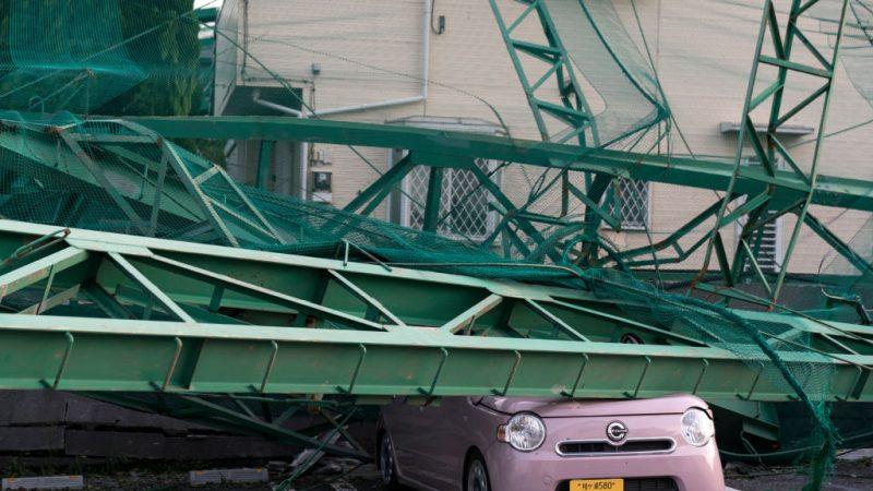 颱風重創日本千葉 停電4天釀2死61傷 部份慘況如311 | 法西 | 千葉縣 | 新唐人中文電視臺在線
