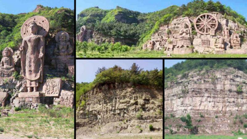中共「滅佛」:58佛像被剷 800羅漢像被拆 | 寺院 | 觀音像 | 新唐人中文電視臺在線