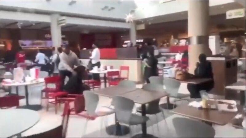 亞特蘭大購物商場傳槍響 食客四散釀1傷 孕婦受驚 | 喬治亞州 | 槍擊 | 新唐人中文電視臺在線