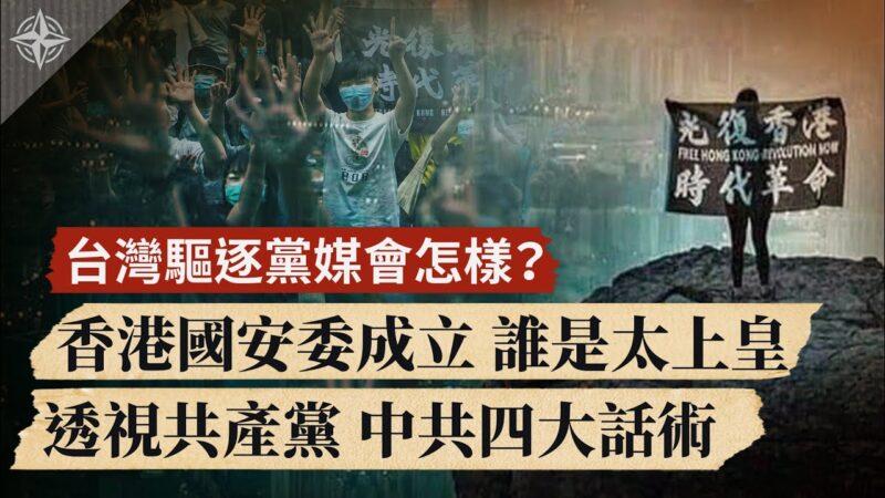 【世界的十字路口】臺灣驅逐黨媒會怎樣?香港國安委成立 誰是太上皇 | 國安法 | 新唐人中文電視臺在線