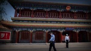 流行病在中南海所在地爆发,北京很多地方沦陷
