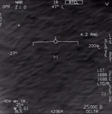 НЛО на зйомці ВМС США