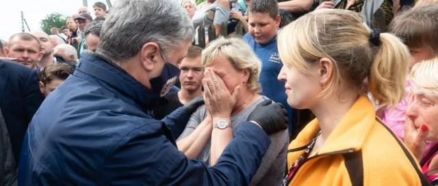 Петр Порошенко на Прикарпатье