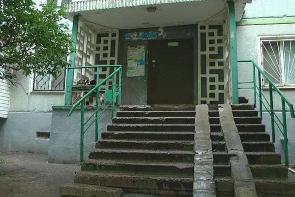 Дом, где находится нелегальный детсад