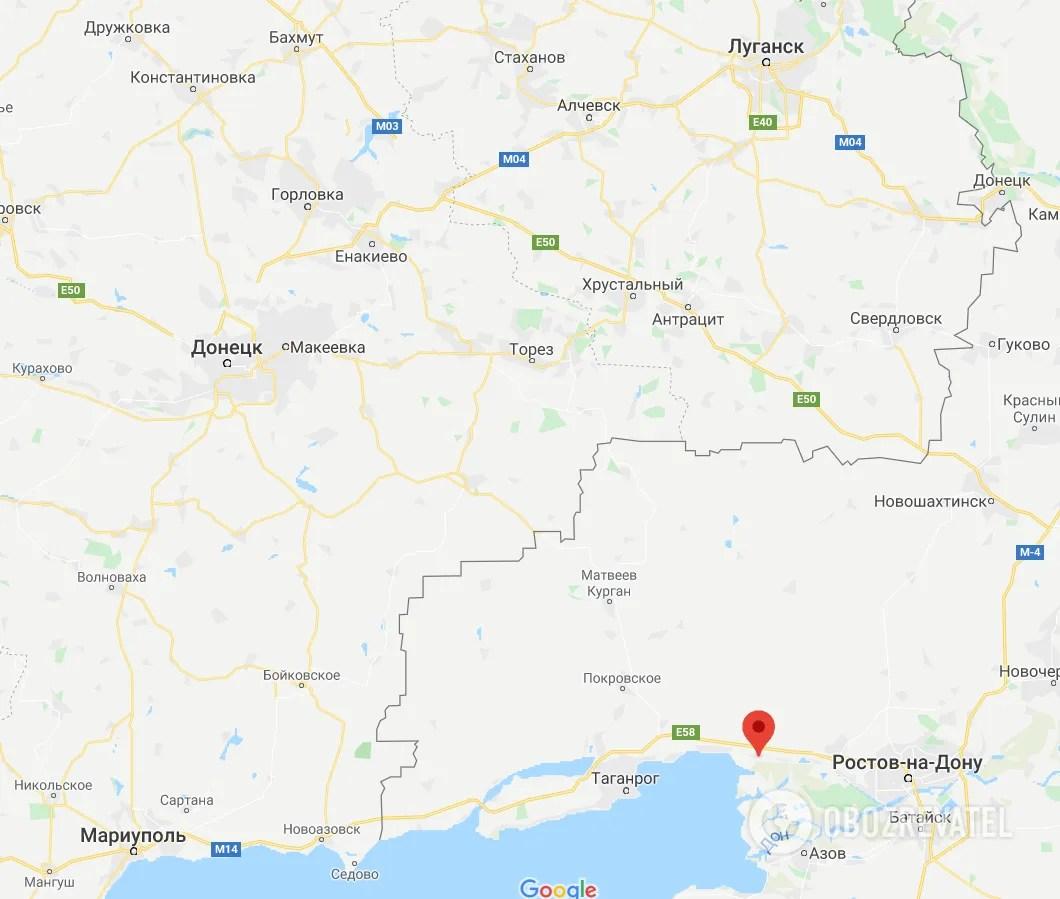 Синявське знаходиться недалеко від окупованого Донбасу
