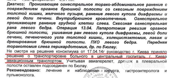 Андрей Дубовик получил тяжелые ранения