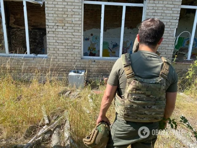 Президент Зеленский на Донбассе