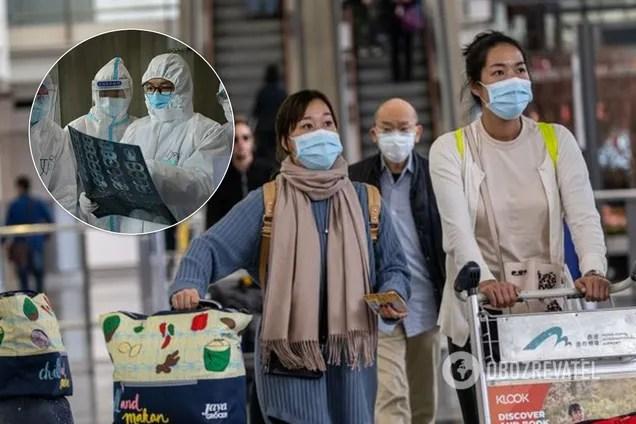 В Китае зафиксирован резкий скачок заражених коронавирусом