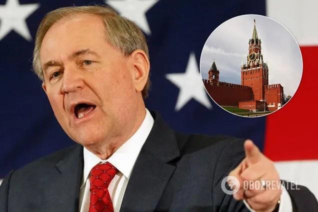 Джеймс Гилмор сделал заявление по поводу агрессии России в Украине