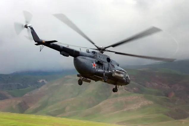 Под Москвой разбился военный вертолет: экипаж погиб
