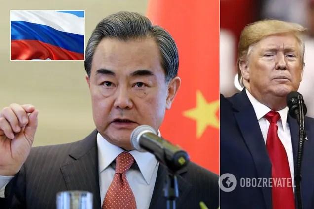 """Глава МИД Китая Ван И сделал заявление о """"новой холодной войне"""" с США и союзе с Россией"""